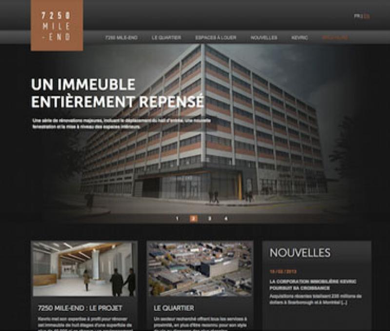 Réalisation site Internet pour immobilier freelance