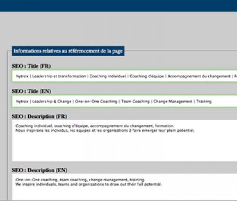 Création site Web avec CMS sur mesure par un programmeur php indépendant