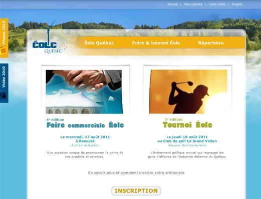 Site Web pour association à but non lucratif