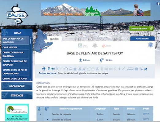 Site Web pour association touristique