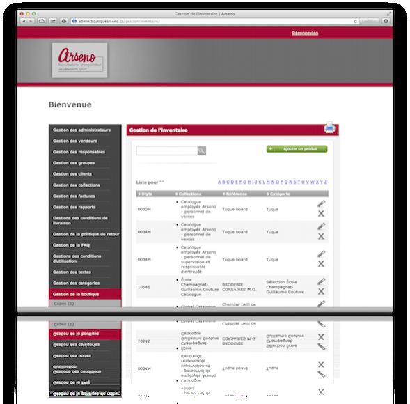 Création d'un gestionnaire de contenu pour e-commerce (CMS pour e-commerce)