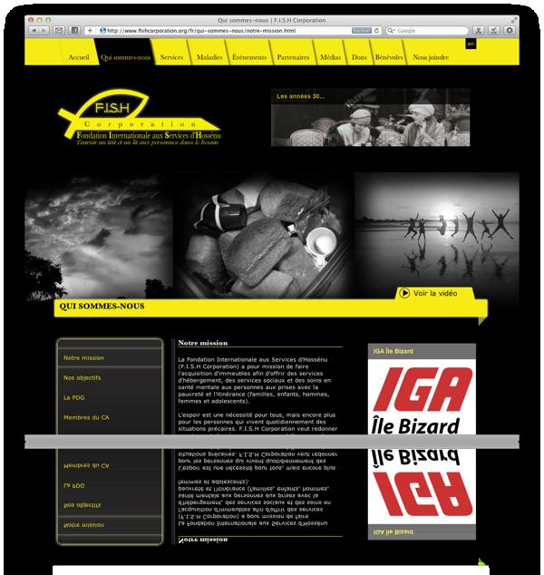 Réalisation site Web pour association en France