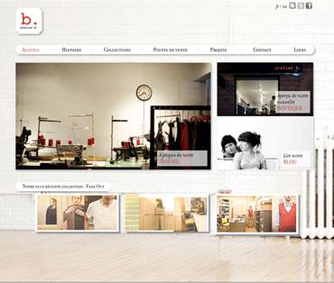 Création site boutique