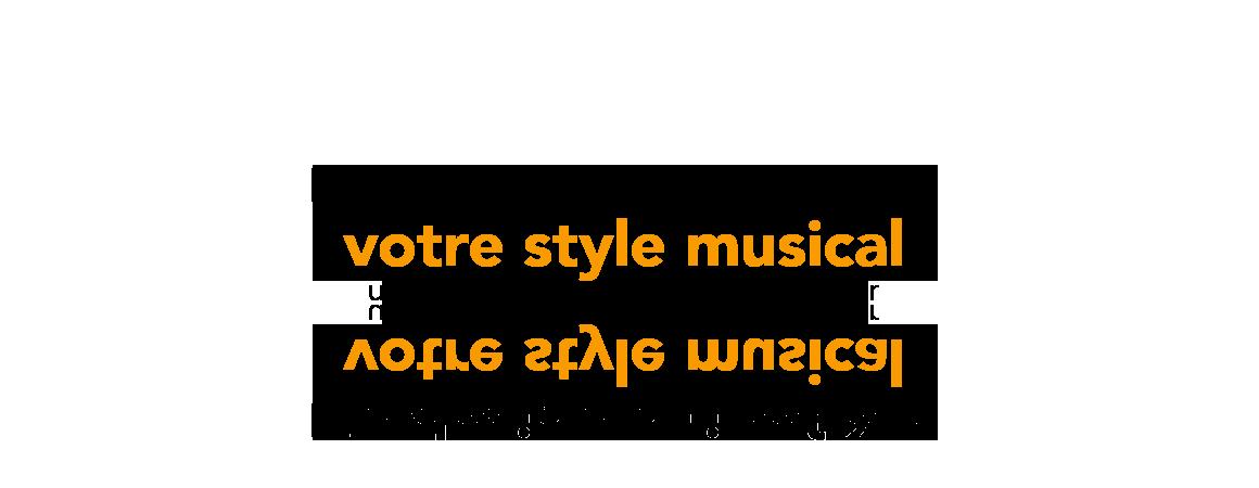 Création de design web professionnel pour site Web de chanteur sur le 974