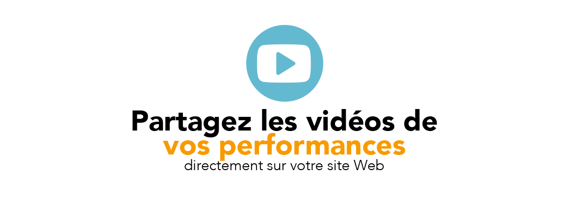 Placez vos vidéos de chanteur en streaming sur votre site Web d'artiste chanteur de la Réunion