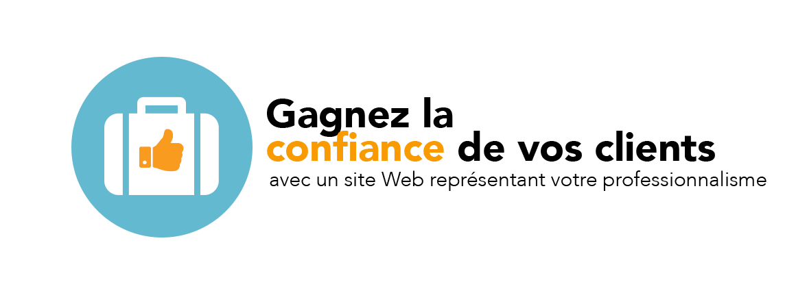 Site Web pour auto entrepreneur à la Réunion qui inspire confiance